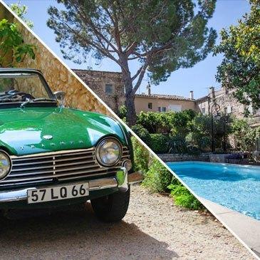 Weekend et Balade en Cabriolet aux Baux-de-Provence
