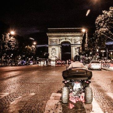 Balade Nocturne en Quad à Paris