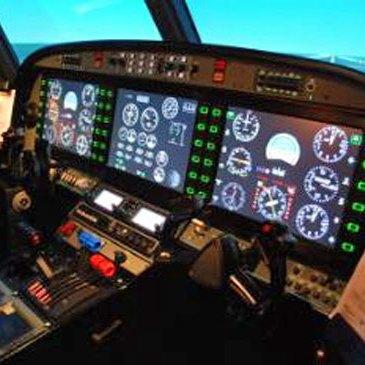 Aérodrome de Libourne, Gironde (33) - Simulateur de Vol