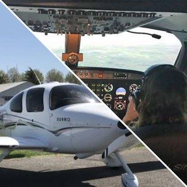 Simulateur et Vol Découverte en Avion Léger à Libourne