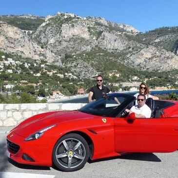 Stage sur Route en Ferrari California à Monaco