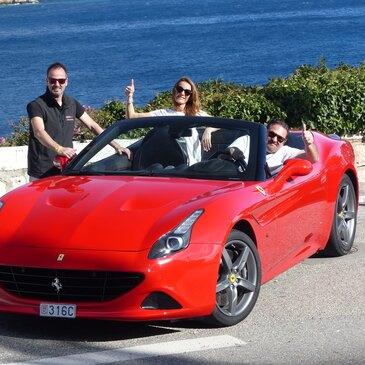 Stage sur Route en Ferrari California à Nice