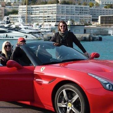 Stage sur Route en Ferrari California à Nice en région Provence-Alpes-Côte d'Azur et Corse