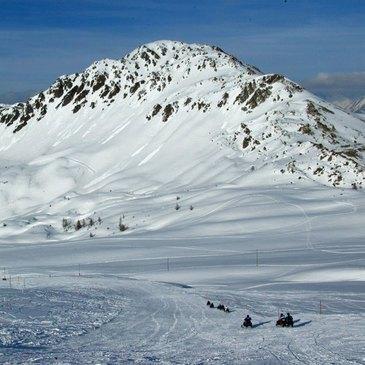 Montgenèvre, Hautes Alpes (05) - Scooter des neiges