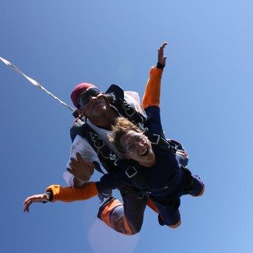 Saut en parachute, département Morbihan