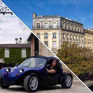 Week-end et Balade en Buggy à Bordeaux