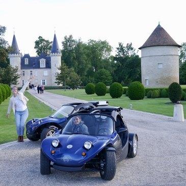 Week end Pilotage Auto et Moto, département Gironde