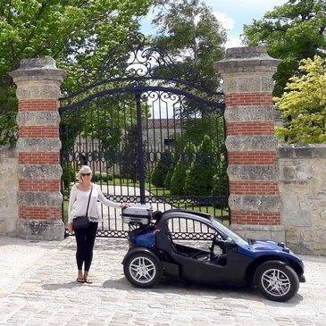 Week-end et Balade en Buggy à Bordeaux en région Aquitaine