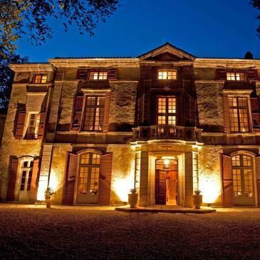 Nuit au Château de Roussan