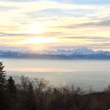 Week-End à la Montagne face au Mont-Blanc