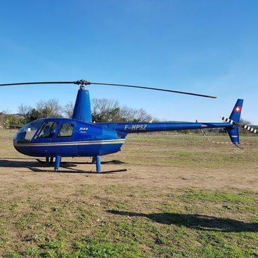 Baptême en Hélicoptère à Roanne