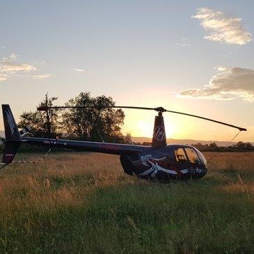 Roanne, Loire (42) - Baptême de l'air hélicoptère