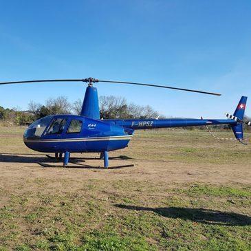 Villeneuve-lès-Avignon, Gard (30) - Baptême de l'air hélicoptère
