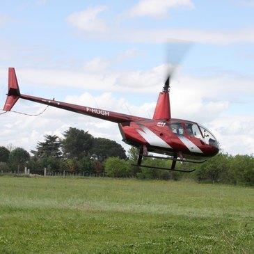 Baptême de l'air hélicoptère proche Villeneuve-lès-Avignon
