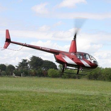 Baptême de l'air hélicoptère proche Hyères