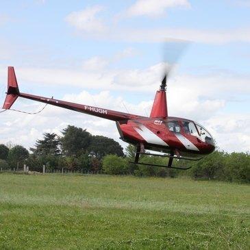 Baptême en Hélicoptère près de Toulouse