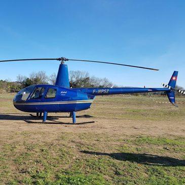 Baptême de l'air hélicoptère en région Midi-Pyrénées