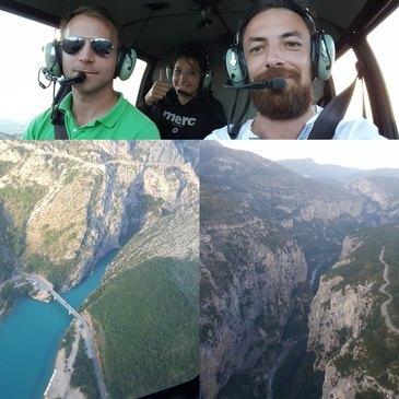 Valensole, Alpes de Haute Provence (04) - Baptême de l'air hélicoptère