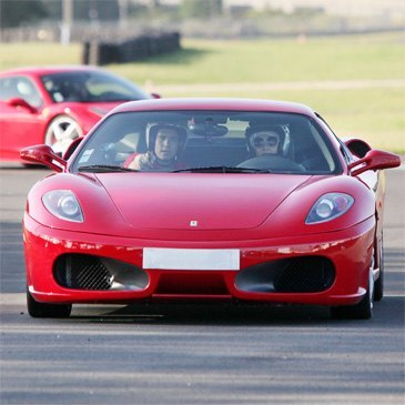 Baptême en Ferrari F430 - Circuit de Folembray