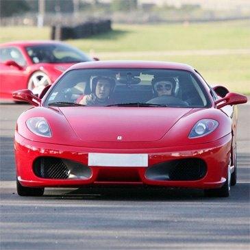 Baptême en Ferrari F430 - Circuit de Folembray