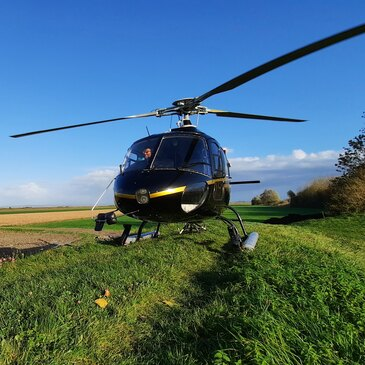 Baptême de l'air hélicoptère, département Finistère