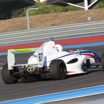 Stage de pilotage Formule 3, département Rhône