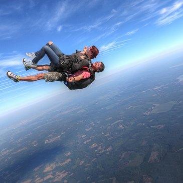 Saut en parachute, département Dordogne