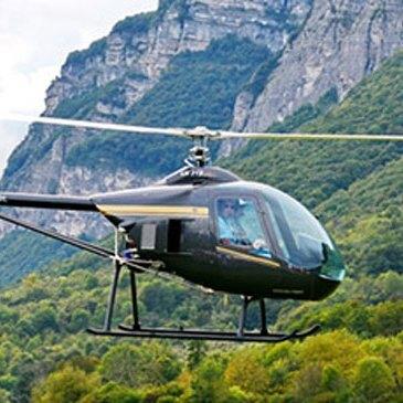 Baptême de l'air hélicoptère, département Drôme