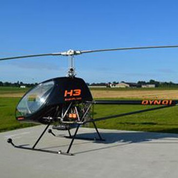 Aérodrome de Montélimar-Ancône, Drôme (26) - Baptême de l'air hélicoptère