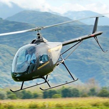 Baptême de l'air hélicoptère proche Aérodrome de Montélimar-Ancône