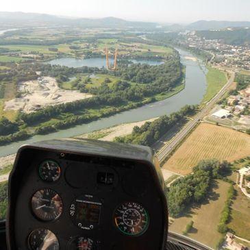 Initiation au Pilotage d'Hélicoptère ULM à Montélimar