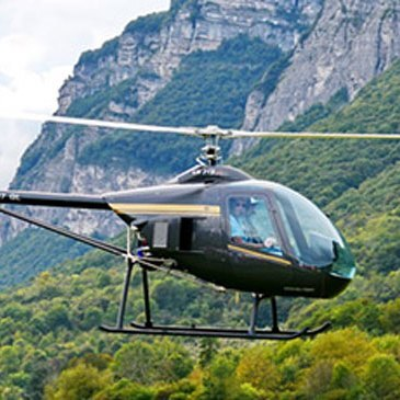 Stage initiation hélicoptère en région Rhône-Alpes