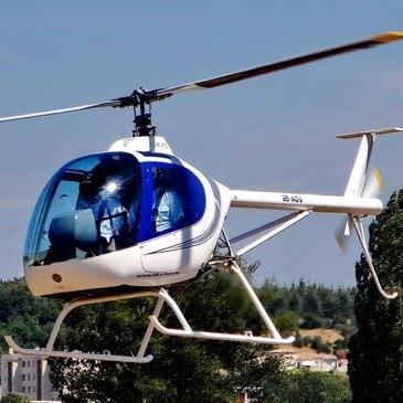Initiation au Pilotage d'Hélicoptère ULM à Montélimar en région Rhône-Alpes