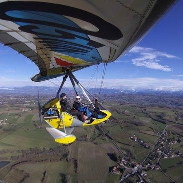 Aérodrome de la Tour-du-Pin–Cessieu, Isère (38) - Baptême en ULM et Autogire