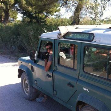Randonnée Safari en 4x4 en Camargue près d'Arles en région Provence-Alpes-Côte d'Azur et Corse