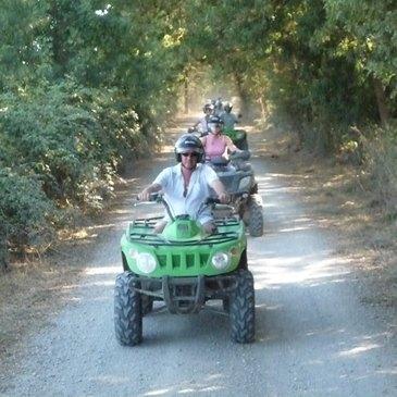 Randonnée en Quad en Camargue à Aigues-Mortes