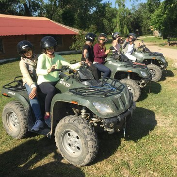 Quad & Buggy proche Aigues-Mortes