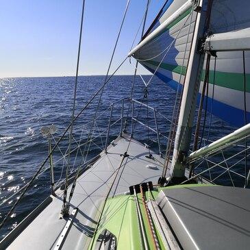 Week-end en Voilier avec Skipper à La Trinité-sur-Mer