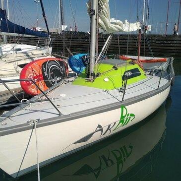 Week-end en Voilier avec Skipper à La Trinité-sur-Mer en région Bretagne