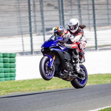 Baptême Sensation en Yamaha - Circuit de Magny-Cours GP