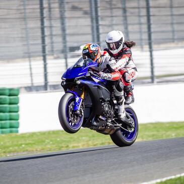 Baptême Moto sur Circuit, département Puy de dôme