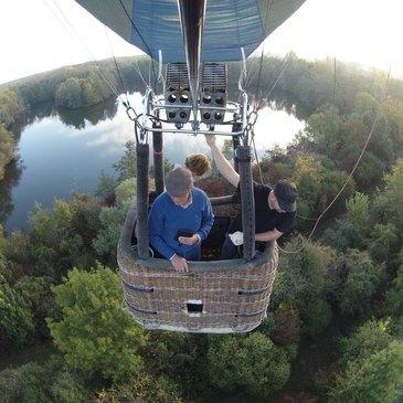 Baptême de l'air montgolfière, département Aube