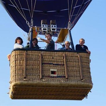 Troyes, Aube (10) - Baptême de l'air montgolfière
