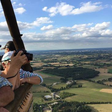 Baptême de l'air montgolfière, département Loire Atlantique