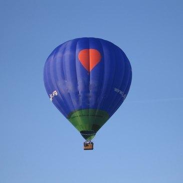 Nantes, Loire Atlantique (44) - Baptême de l'air montgolfière