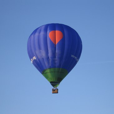 Baptême de l'air montgolfière proche Nantes