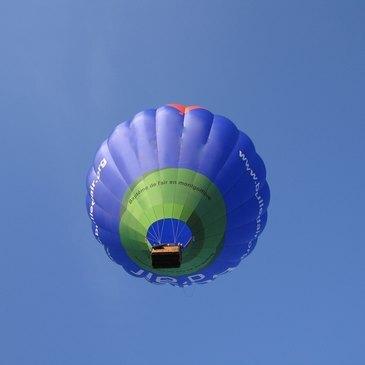 Baptême de l'air montgolfière, département Ille et vilaine