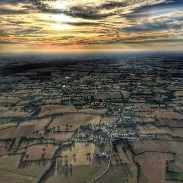 Baptême de l'air montgolfière en région Bretagne