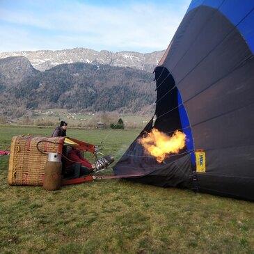 Réserver Baptême de l'air montgolfière en Rhône-Alpes