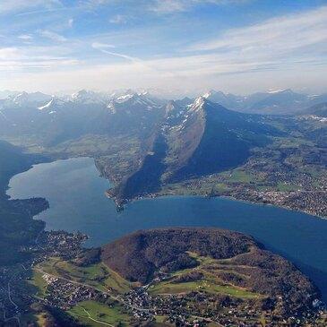 Baptême de l'air montgolfière proche Doussard, à 25 min d'Annecy